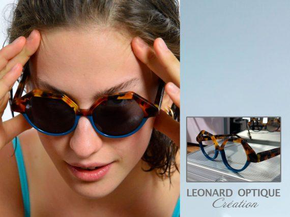 Lunettes sur mesure fabriquées à Albi. Léonard Optique.